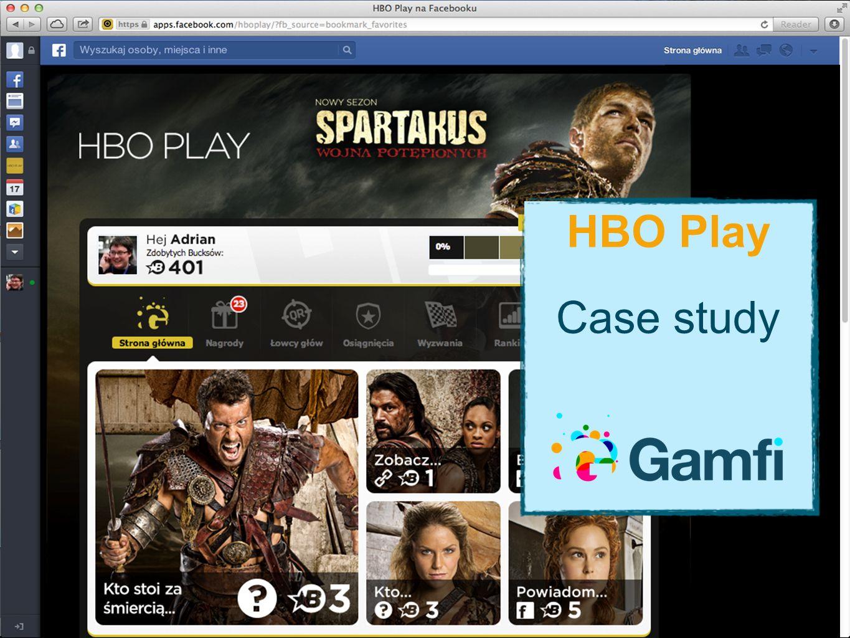 Cele HBO #1 Jest mało fanów, chcemy więcej.#2 Chcemy większej aktywności fanów.