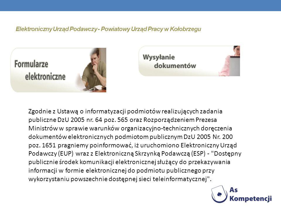 Zgodnie z uchwałą nr 340/2010 Zarządu Powiatu w Kołobrzegu z dnia 11 stycznia 2010 r., w sprawie uchwalenia Regulaminu Organizacyjnego Powiatowego Urz