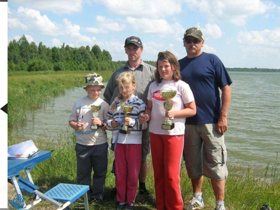 SEZON 2009 - 2010 Dziecięco - młodzieżowe zawody wędkarskie Wprowadzenie