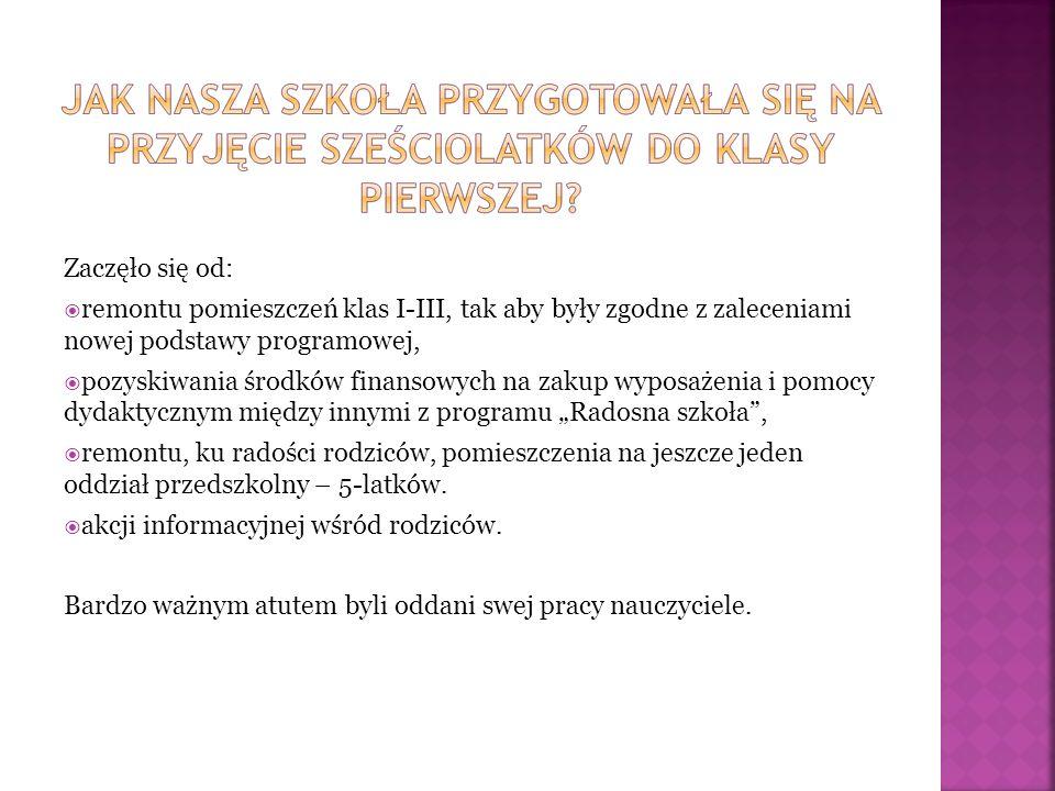 Nasza szkoła bierze także udział w programie: OWOCE W SZKOLE.