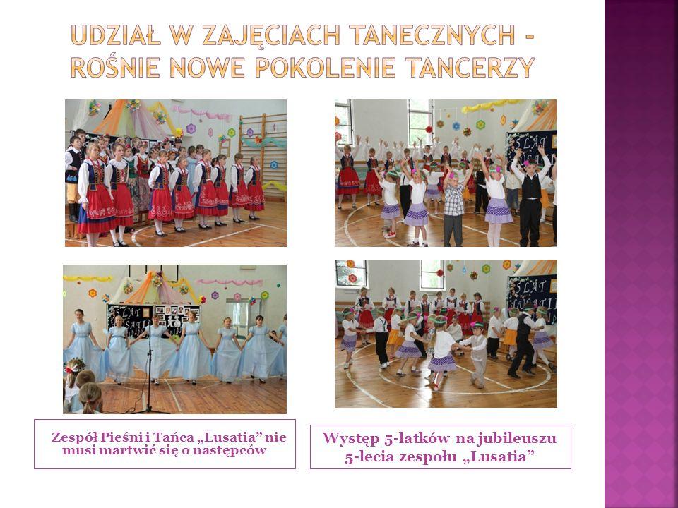 Zespół Pieśni i Tańca Lusatia nie musi martwić się o następców Występ 5-latków na jubileuszu 5-lecia zespołu Lusatia