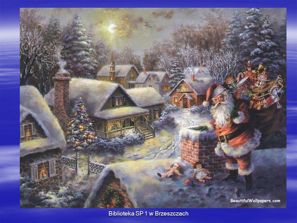 Gdzie mieszka Święty Mikołaj.