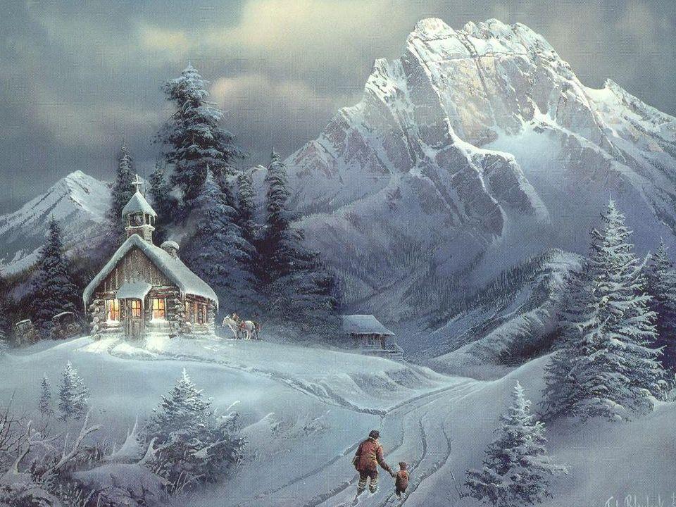 Jak to z tymi skarpetami było Pewnego dnia spacerujący Mikołaj spotkał biednego chłopa.