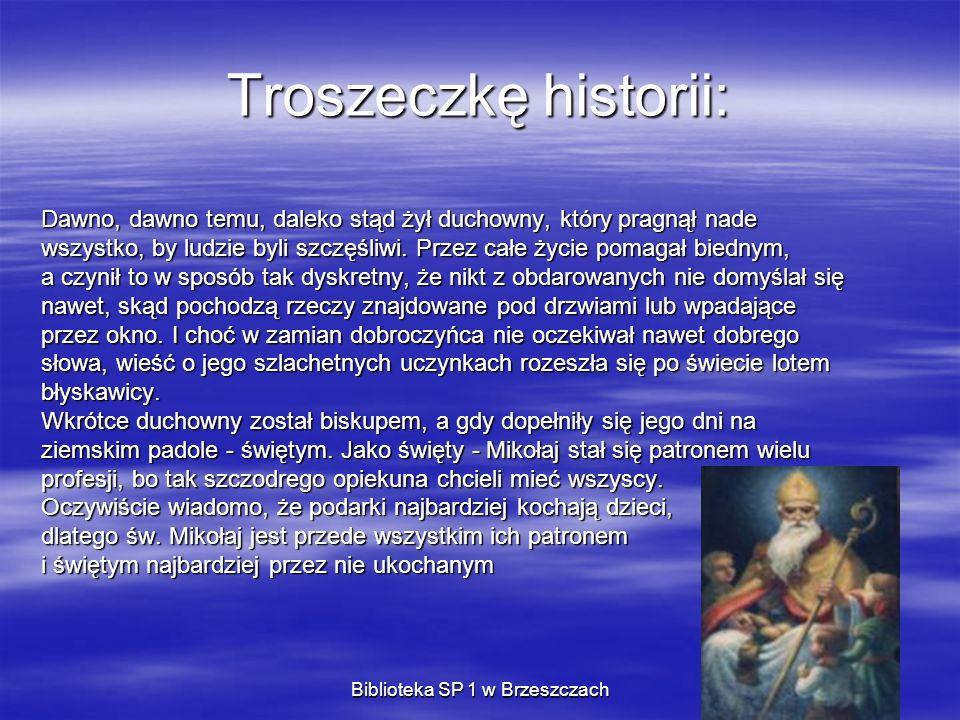 Biblioteka SP 1 w Brzeszczach Wywiad z Mikołajem ( Z Mikołajem rozmawiał w Laponii specjalny korespondent) W okresie świąt masz pewnie mnóstwo pracy.