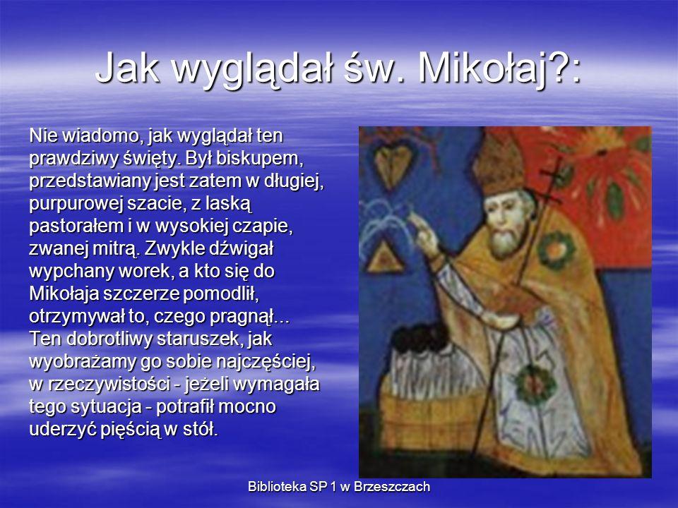 Biblioteka SP 1 w Brzeszczach Sześć dowodów na istnienie Świętego Mikołaja 5.
