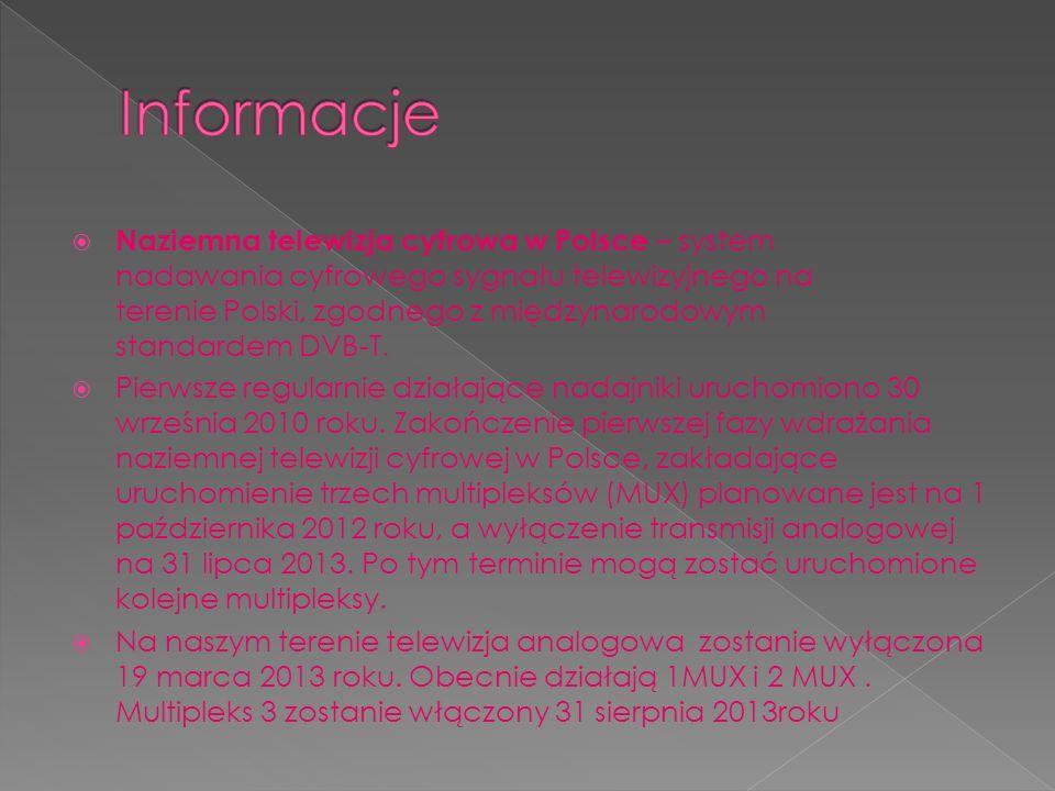 Naziemna telewizja cyfrowa w Polsce – system nadawania cyfrowego sygnału telewizyjnego na terenie Polski, zgodnego z międzynarodowym standardem DVB-T.