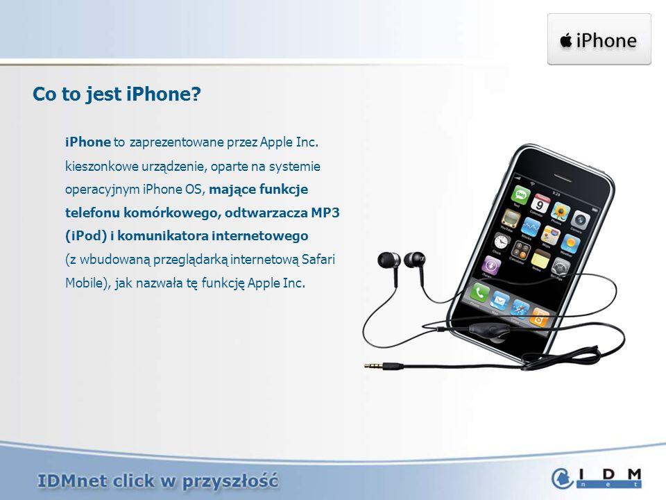iPhone na rynku Polskim W Polsce iPhone znajduje się w sprzedaży od 22.