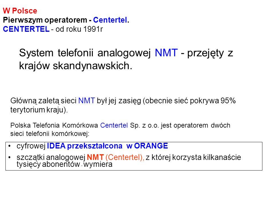 Plus GSM (a właściwie Polkomtel) – W 1999 r sieć Plus GSM otrzymała koncesję na budowę sieci DCS 1800 – obecnie ma koncesję na UMTS Era GSM Koncesja nr 2 przypadła dla spółki Polska Telefonia Cyfrowa.