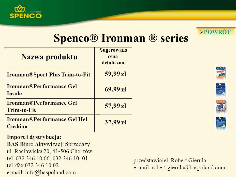 POWRÓT 37,99 zł Ironman®Performance Gel Hel Cushion 57,99 zł Ironman®Performance Gel Trim-to-Fit 69,99 zł Ironman®Performance Gel Insole 59,99 zł Iron