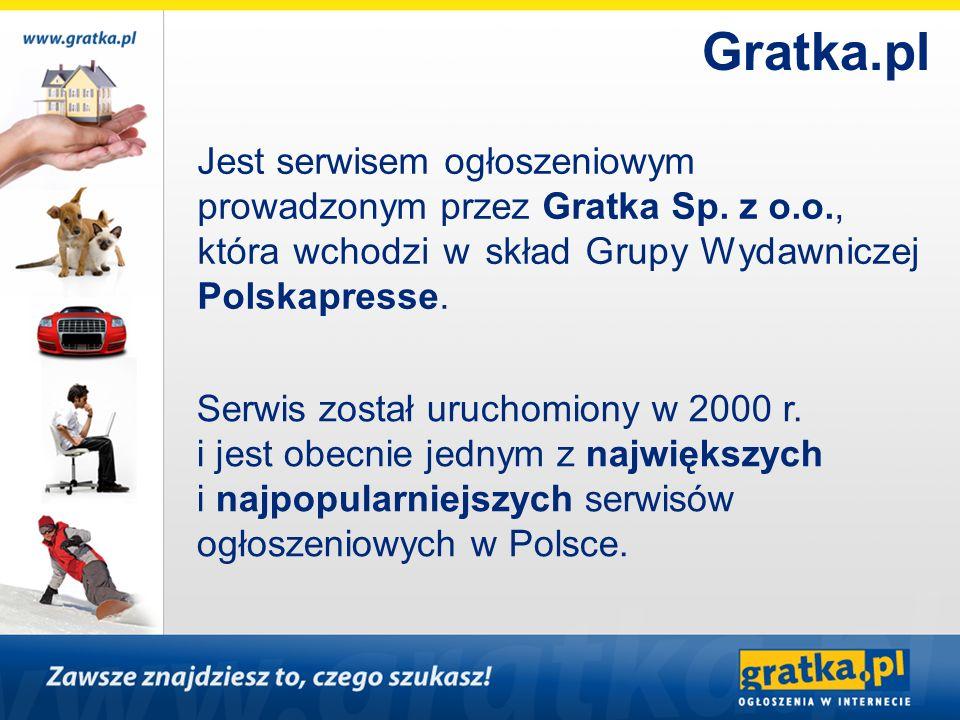 Jest serwisem ogłoszeniowym prowadzonym przez Gratka Sp. z o.o., która wchodzi w skład Grupy Wydawniczej Polskapresse. Serwis został uruchomiony w 200