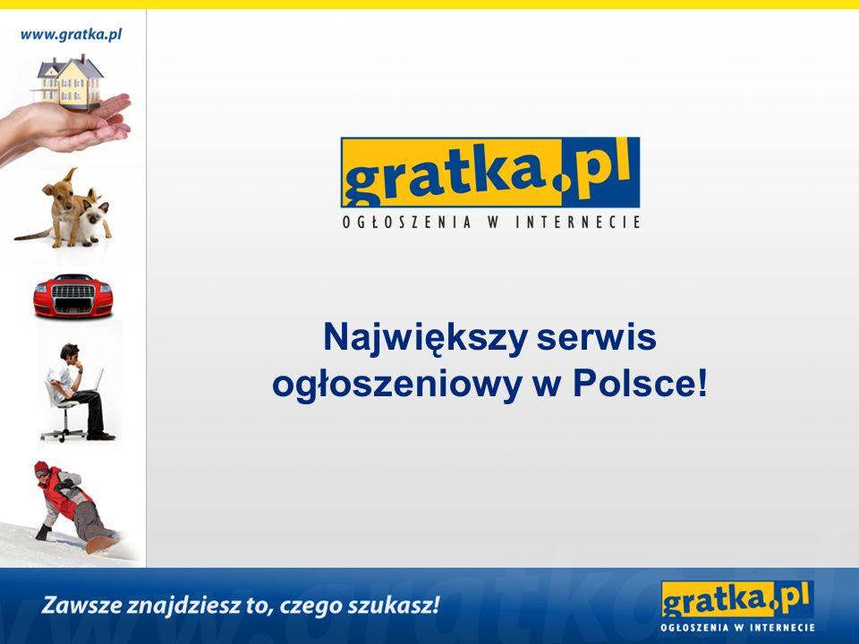 Największy serwis ogłoszeniowy w Polsce!