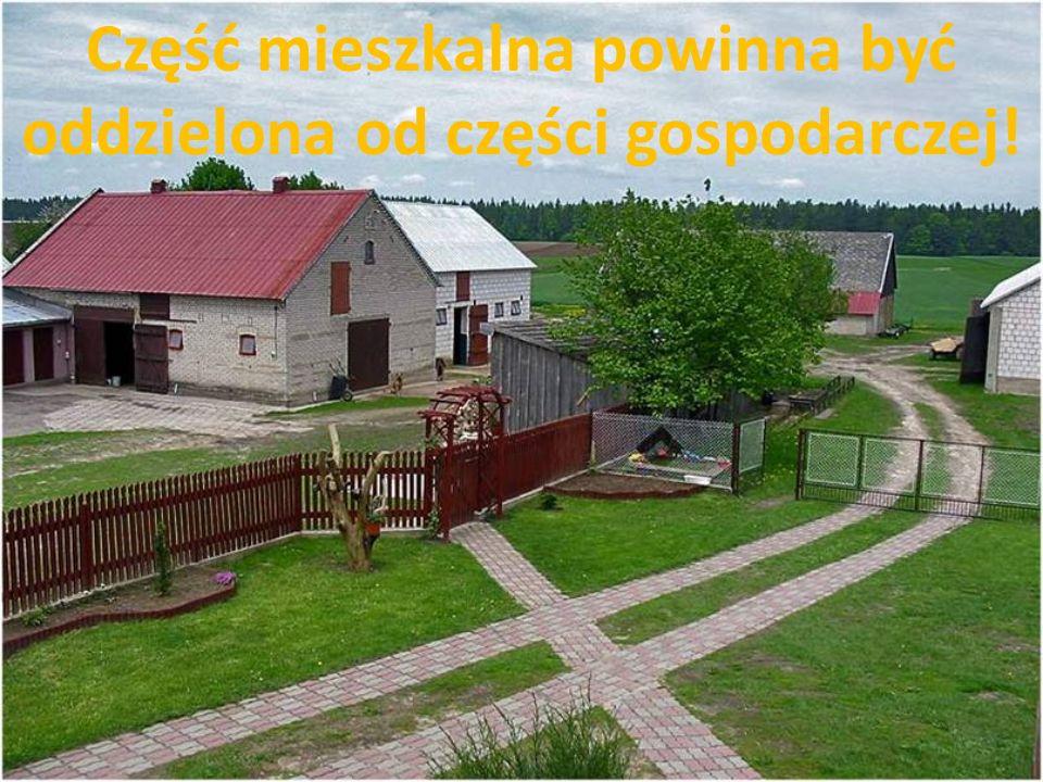 Na wsi należy zorganizować miejsce wypoczynku!