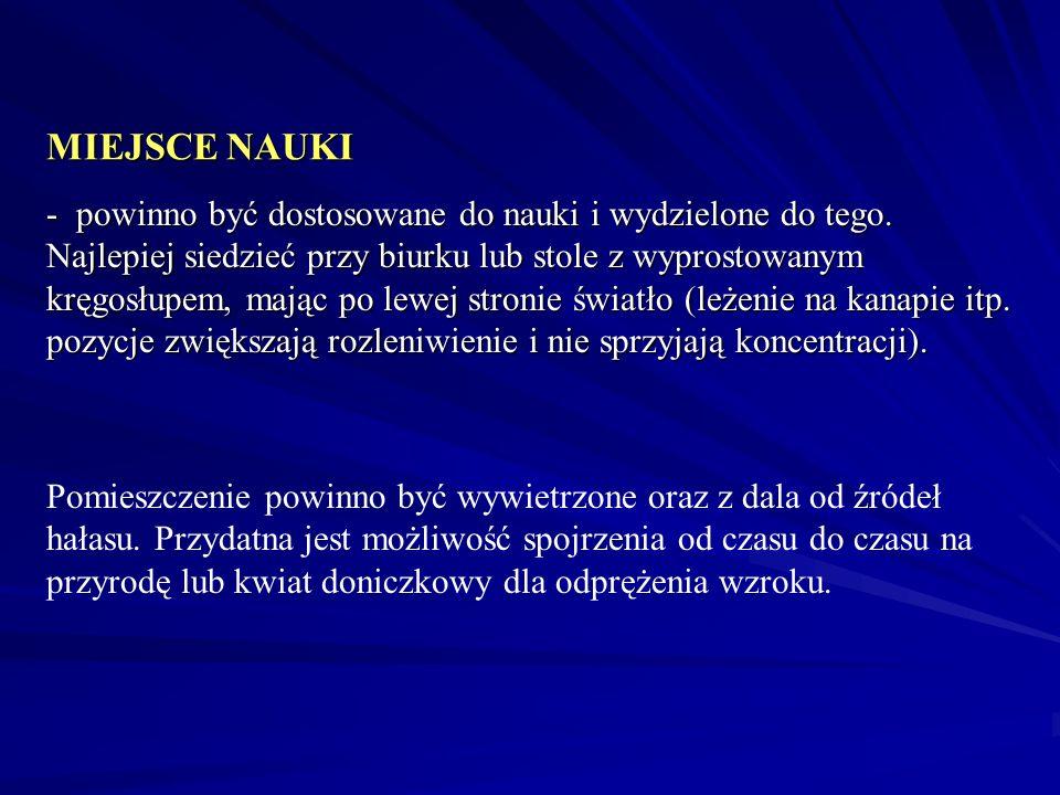 Nauce sprzyja, co wykazały badania dr Łozanowa i in.