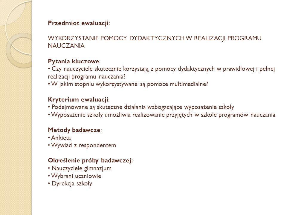 Ankieta dla ucznia (73 uczniów gimnazjum) - listopad 2013 r.