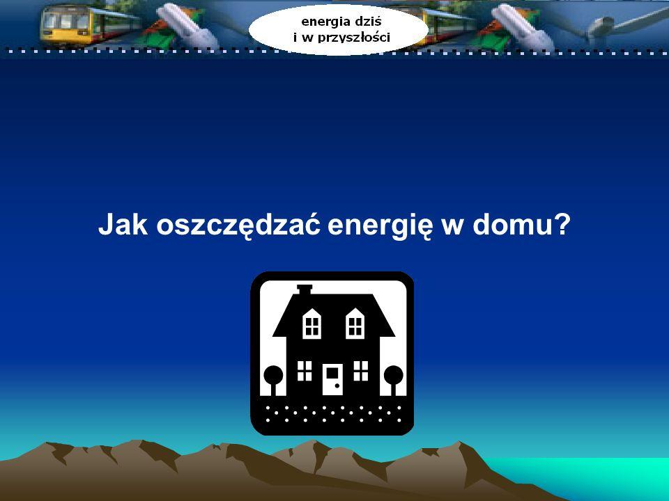 Ćwiczenie: Kupujemy z myślą o kosztach Zastępując stary, pochłaniający energię system nowym, bardziej wydajnym oszczędzisz pieniądze.