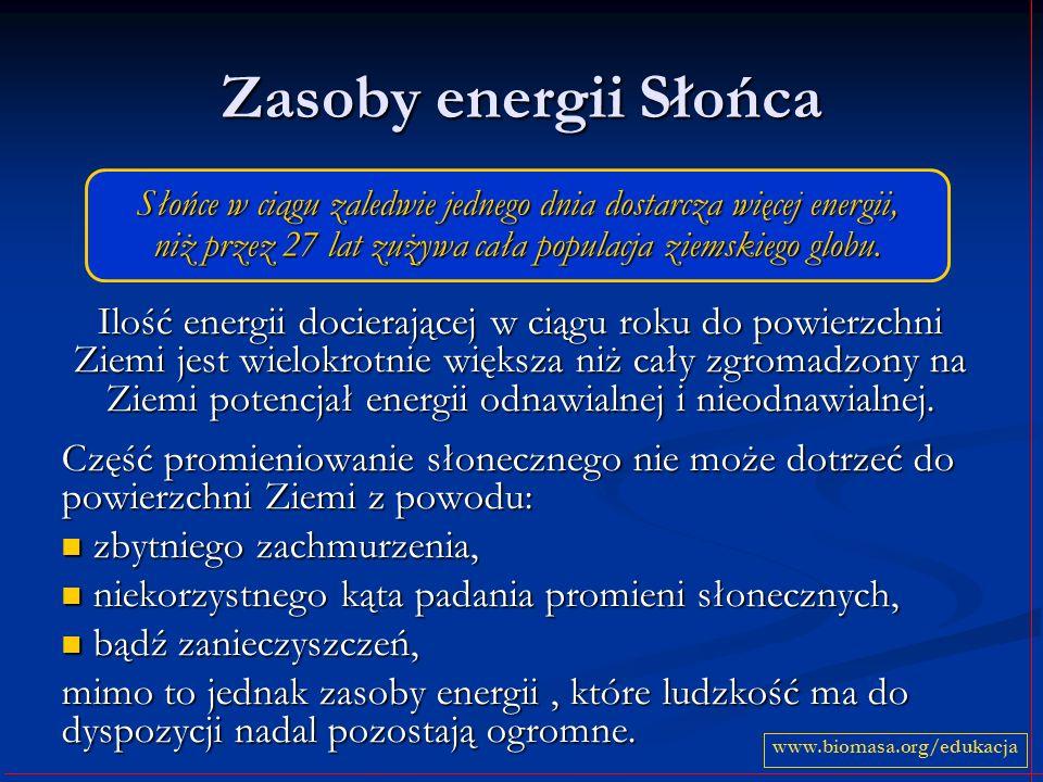 Warunki helioenergetyczne w Polsce W Polsce najlepsze warunki występują: w części woj.