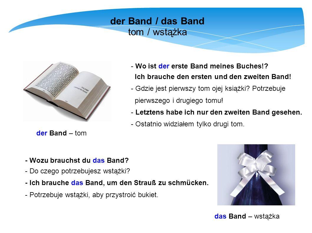 der Band / das Band tom / wstążka - Wo ist der erste Band meines Buches!? Ich brauche den ersten und den zweiten Band! - Gdzie jest pierwszy tom ojej