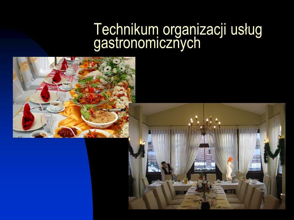 Kucharz małej gastronomii przygotowany jest do pracy w: Punktach małej gastronomii Barach szybkiej obsługi Stołówkach Hotelowych zakładach gastronomicznych Restauracjach Kawiarniach Firmach cateringowych Przedsiębiorstwach produkujących wyroby i półprodukty kulinarne i spożywcze Kontynuuje naukę w zaocznym 2- letnim UZUPEŁNIAJĄCYM LICEUM OGÓLNOKSZTAŁCĄCYM dla DOROSŁYCH w swojej macierzystej szkole