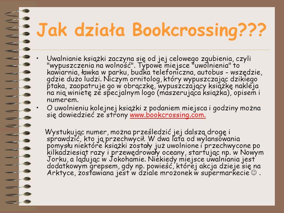 Jak działa Bookcrossing??.