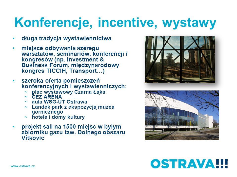 Konferencje, incentive, wystawy długa tradycja wystawiennictwa miejsce odbywania szeregu warsztatów, seminariów, konferencji i kongresów (np. Investme