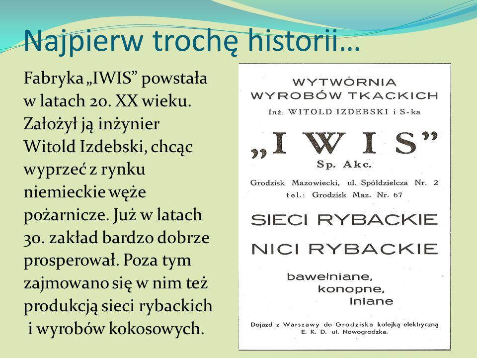 Najpierw trochę historii… Fabryka IWIS powstała w latach 20. XX wieku. Założył ją inżynier Witold Izdebski, chcąc wyprzeć z rynku niemieckie węże poża