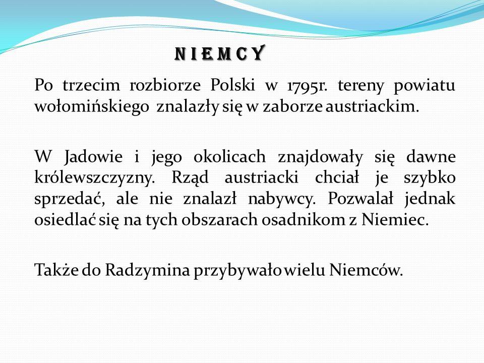 Po trzecim rozbiorze Polski w 1795r.