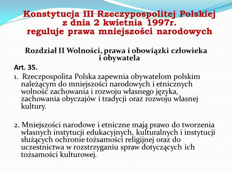 Konstytucja III Rzeczypospolitej Polskiej z dnia 2 kwietnia 1997r.