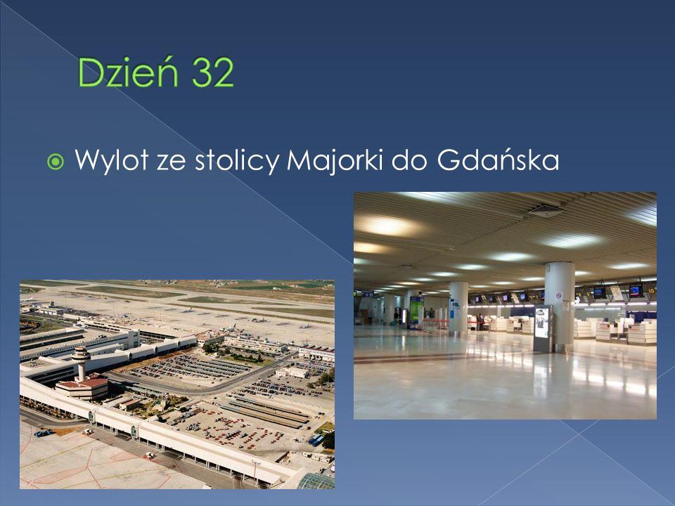 Wylot ze stolicy Majorki do Gdańska