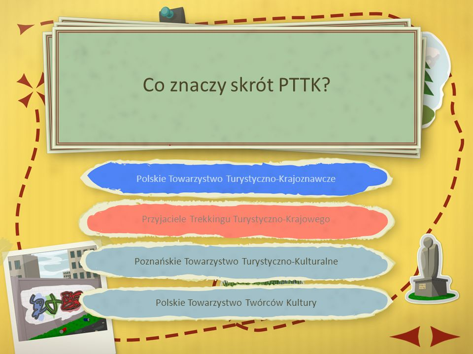 Czerwonym Zielonym Czarnym Niebieskim Jakim kolorem oznacza się główne szlaki turystyczne w Polsce?