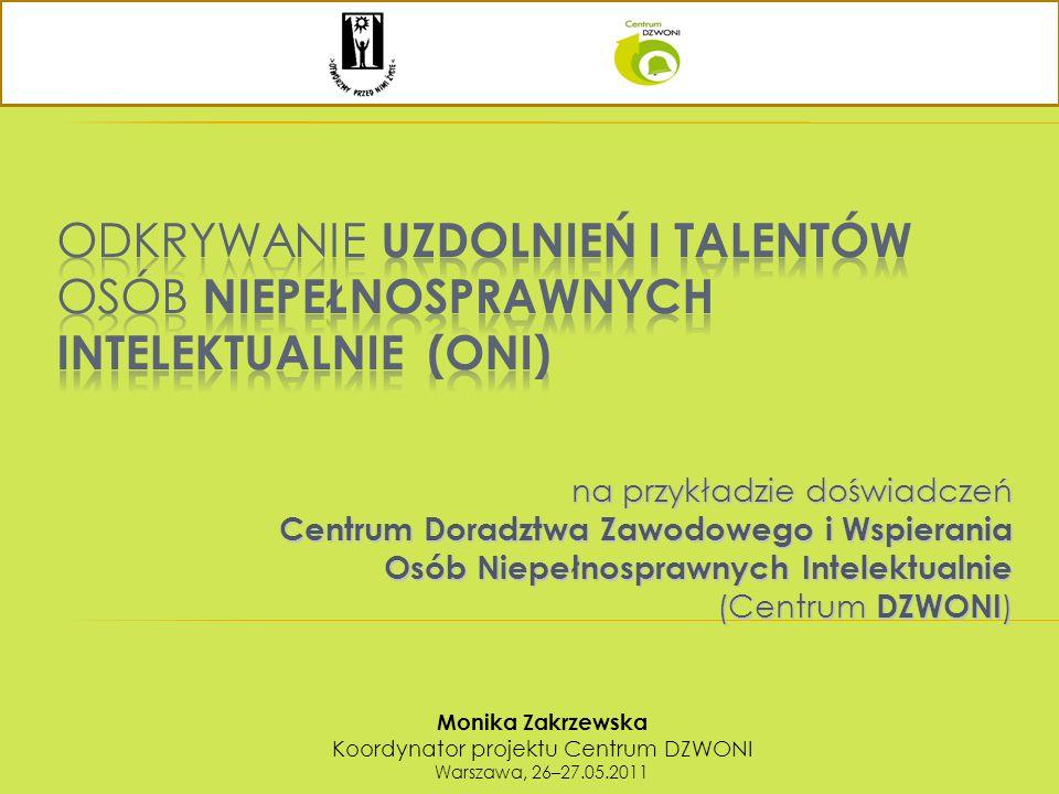 Katarzyna Rudzka, doradca zawodowy z Centrum DZWONI Warsztaty zawodowe w Centrum DZWONI nie mają formuły wykładów, ale ćwiczeń i gier zawodowych.
