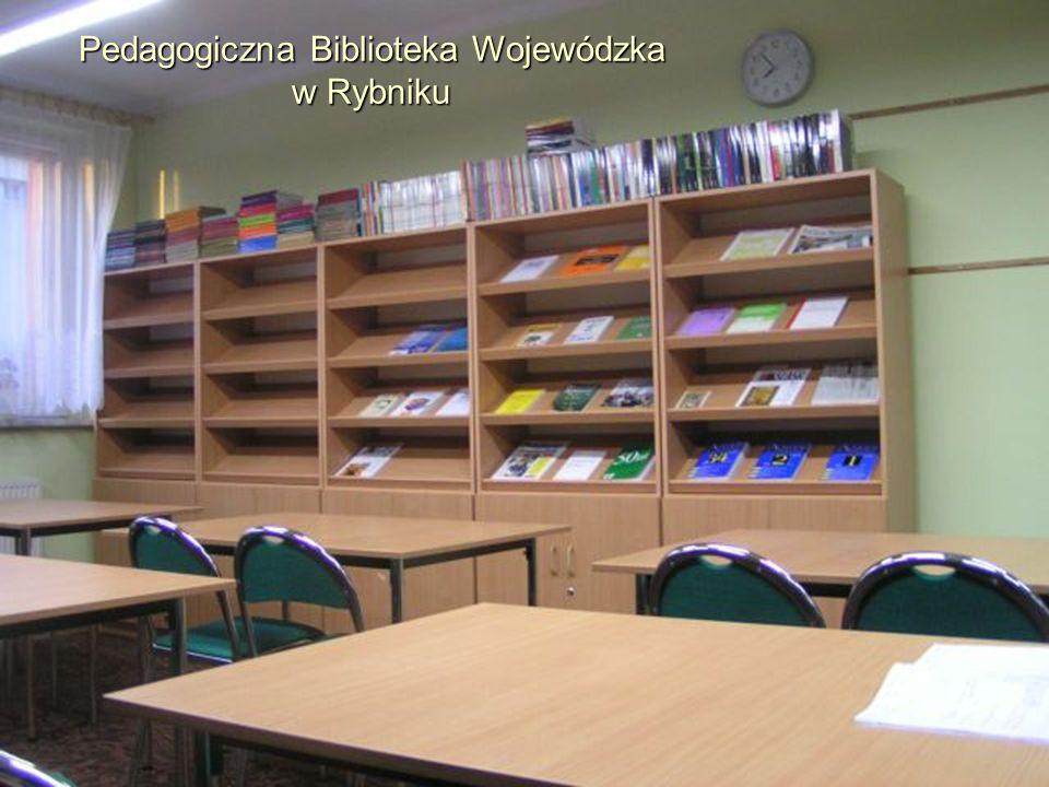 Biblioteka PBW Rybnik w liczbach: Zbiory: 37 tysięcy woluminów Czytelnicy: 2 000 osób Czasopisma: 76 tytułów Zbiory audiowizualne: 1033 egz.