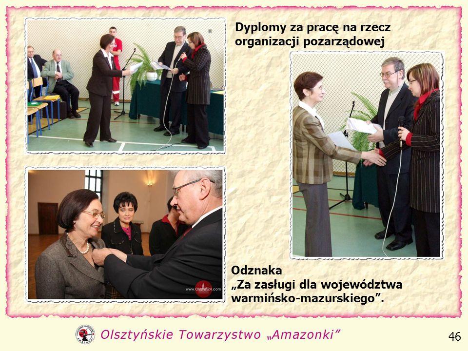 Odznaczenia Złotym i Srebrnym Krzyżem Zasługi za pracę na rzecz osób niepełnosprawnych 45
