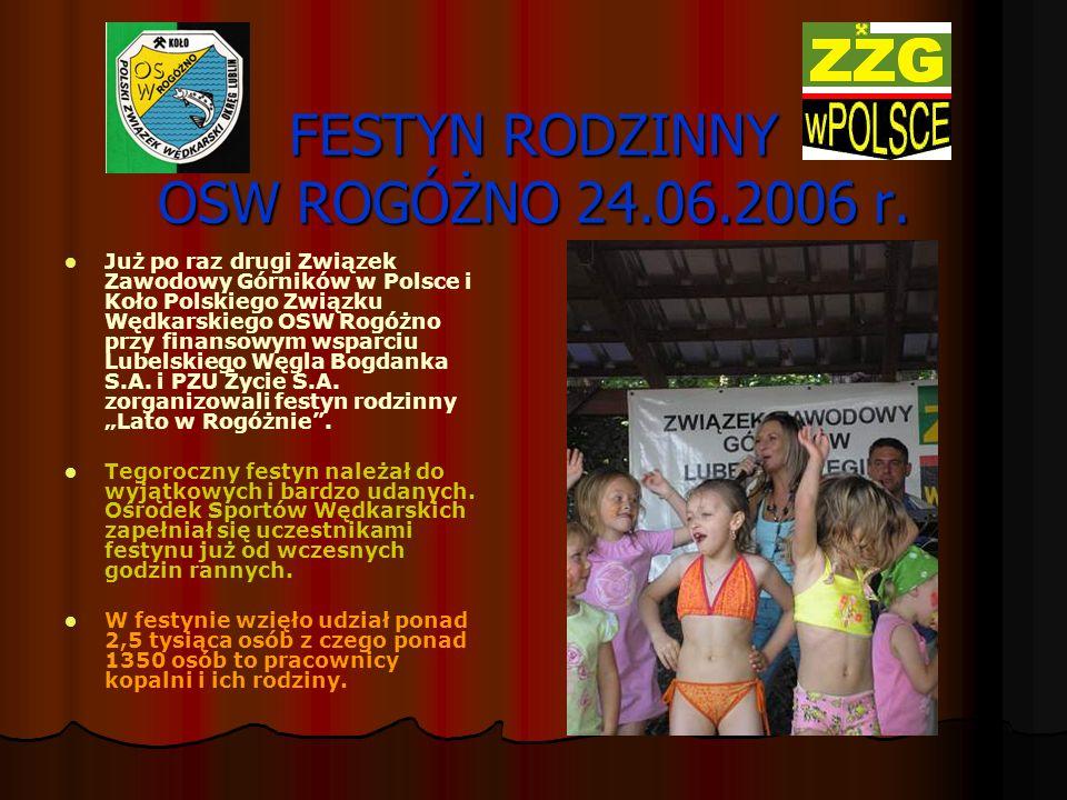 FESTYN RODZINNY OSW ROGÓŻNO 24.06.2006 r.