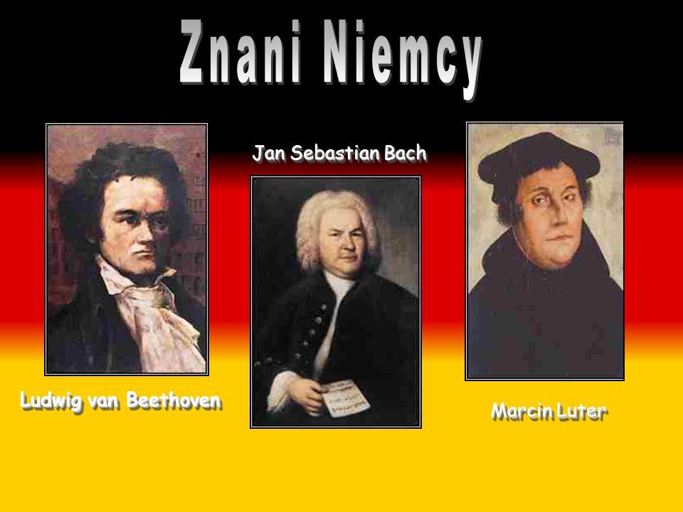 Ludwig van Beethoven Jan Sebastian Bach Marcin Luter