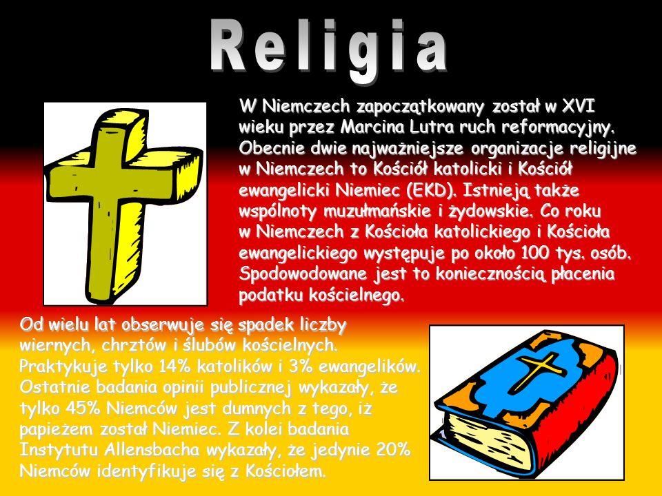 W Niemczech zapoczątkowany został w XVI wieku przez Marcina Lutra ruch reformacyjny. Obecnie dwie najważniejsze organizacje religijne w Niemczech to K