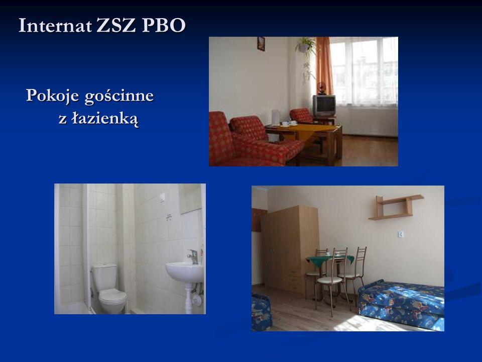 Pokoje gościnne z łazienką z łazienką Internat ZSZ PBO