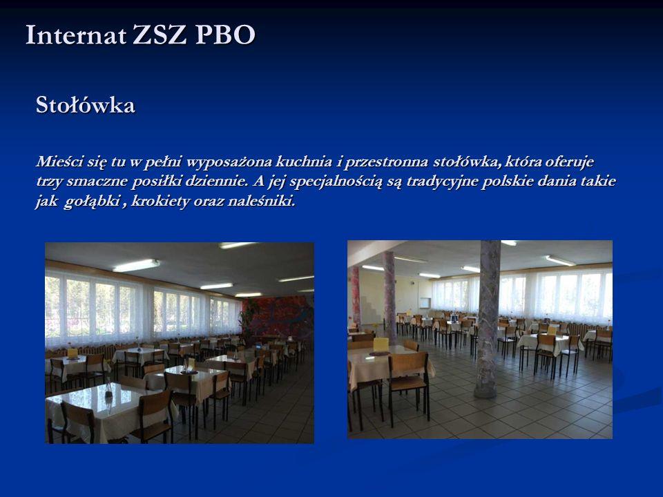 Stołówka Mieści się tu w pełni wyposażona kuchnia i przestronna stołówka, która oferuje trzy smaczne posiłki dziennie. A jej specjalnością są tradycyj