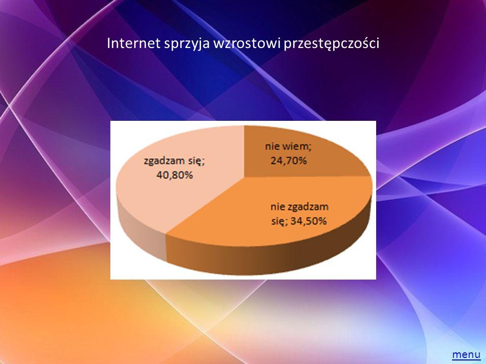 Internet sprzyja wzrostowi przestępczości