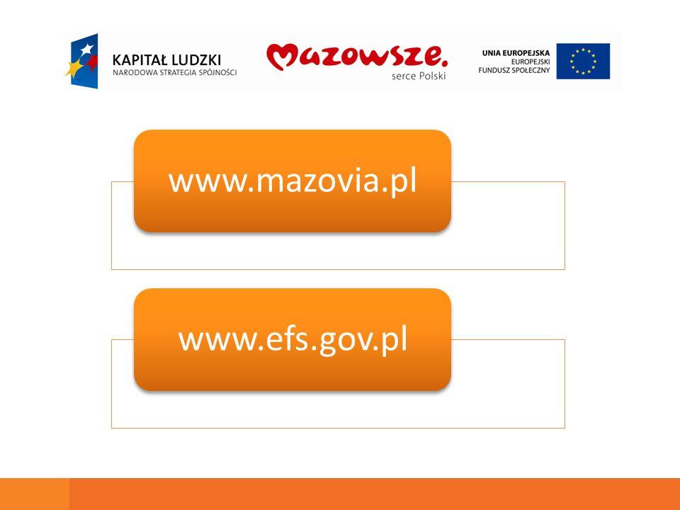 www.mazovia.plwww.efs.gov.pl