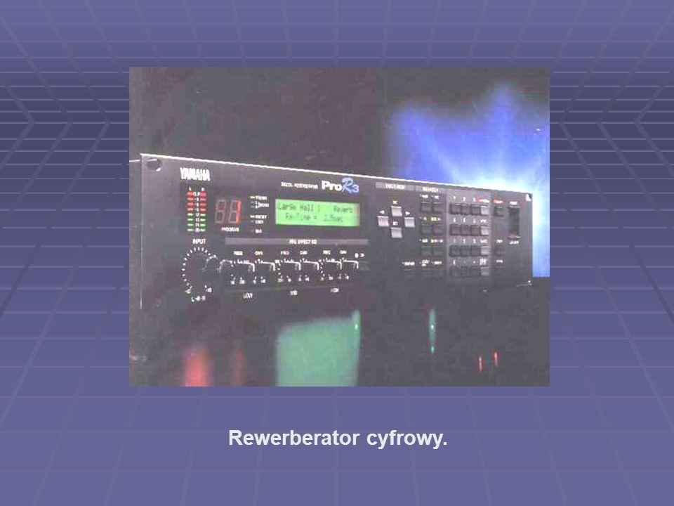 Rewerberator cyfrowy.