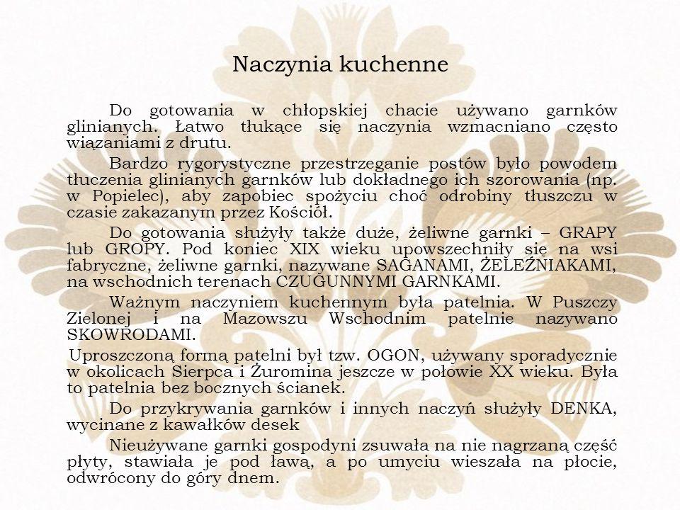 Widok na chatę ze wsi Żery z poł. XIX w.