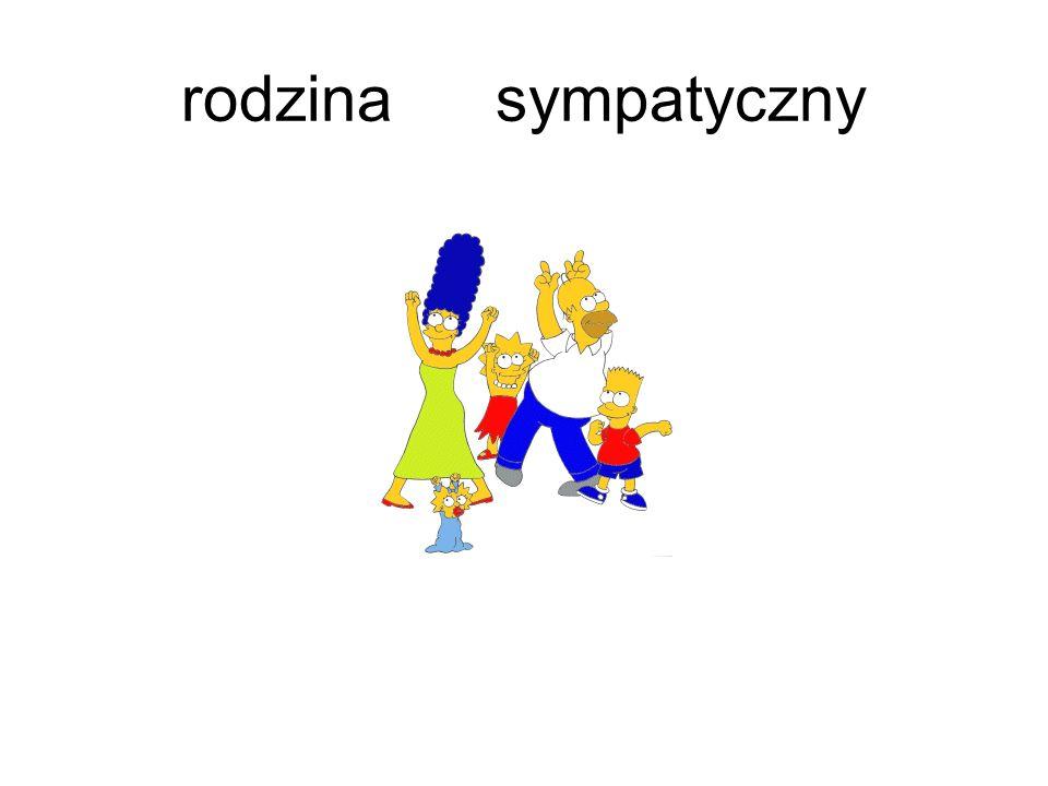 rodzina sympatyczny