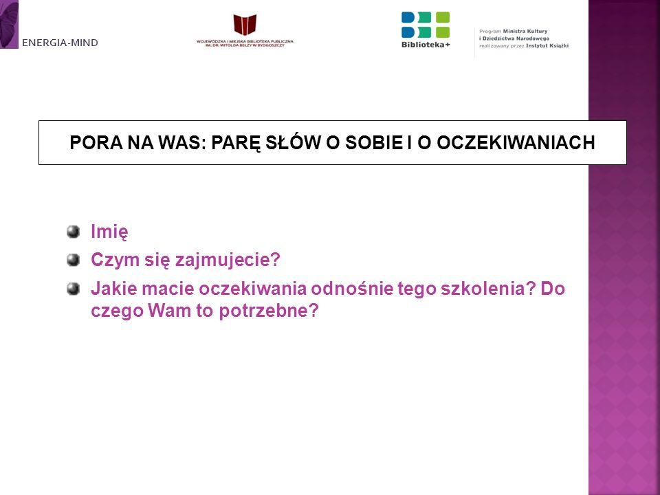 Kameralne vs.Duże audytorium Prywatne/Towarzyskie vs.