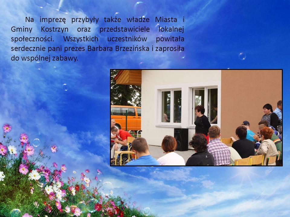 Na imprezę przybyły także władze Miasta i Gminy Kostrzyn oraz przedstawiciele lokalnej społeczności. Wszystkich uczestników powitała serdecznie pani p