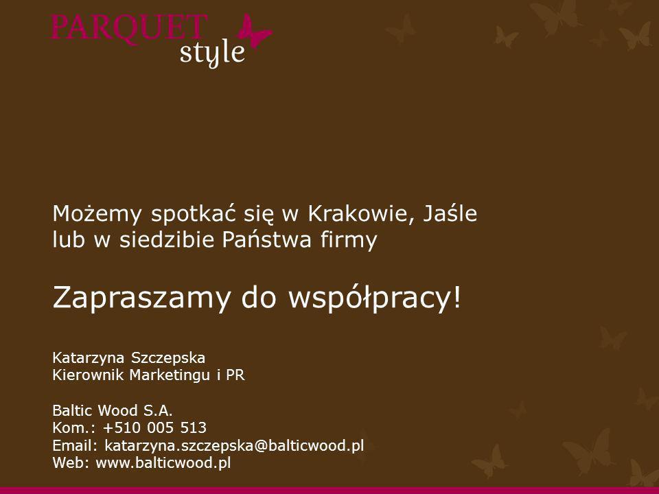 Możemy spotkać się w Krakowie, Jaśle lub w siedzibie Państwa firmy Zapraszamy do współpracy.