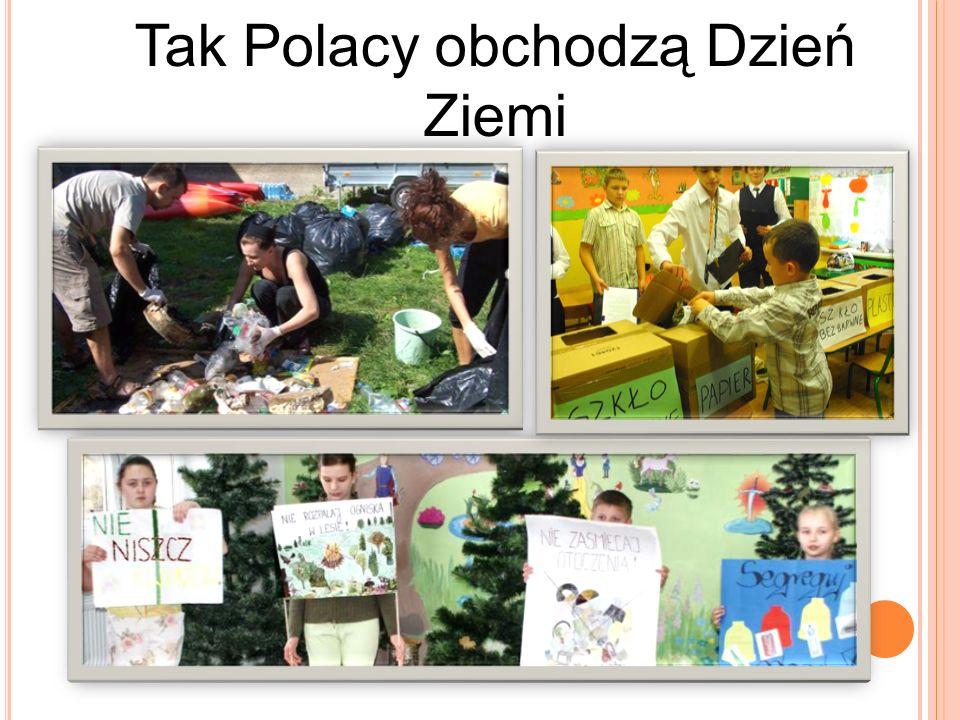 D ZIEŃ Z IEMI W NASZEJ SZKOLE Co roku w naszej szkole organizowany jest apel z okazji Dnia Ziemi.