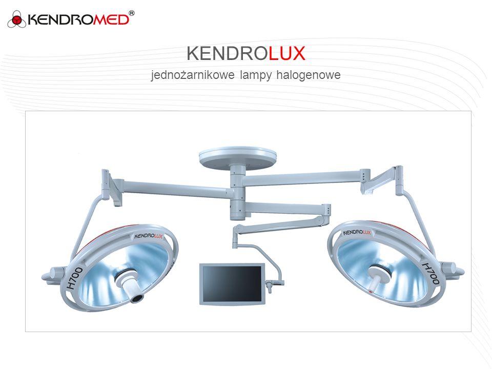 KENDROLUX jednożarnikowe lampy halogenowe