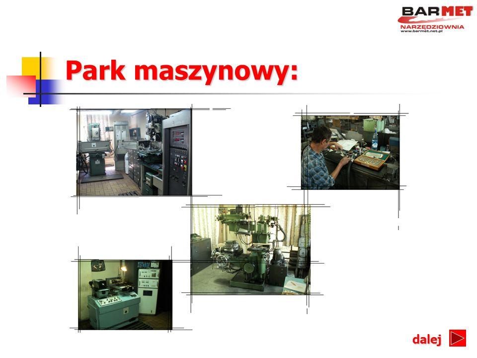 Park maszynowy: dalej