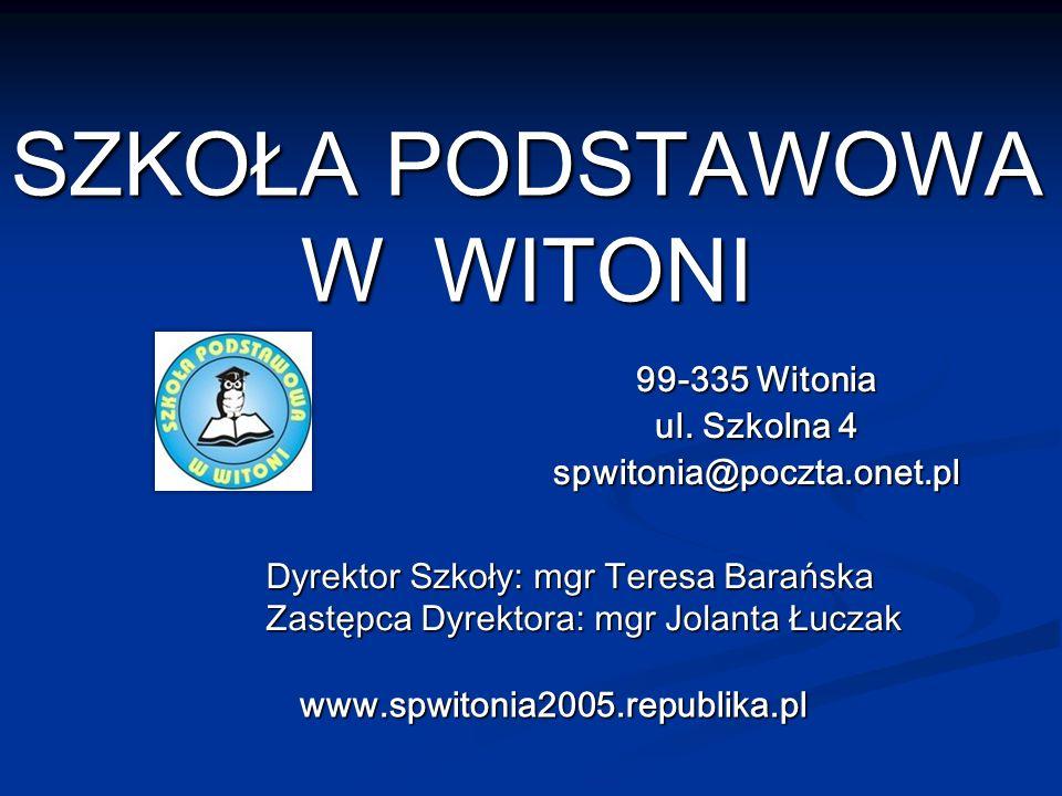 Wychowawcy: mgr Jolanta Tomczak mgr Grzegorz Rabczyński