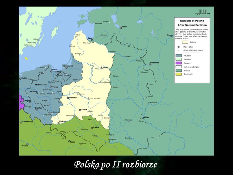 Polska po II rozbiorze